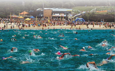 Bondi to Bronte Ocean Swim Race 2012