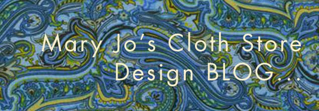 Mary Jo's Cloth Design Blog