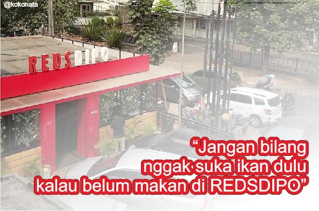 Kuliner Ikan Reds Dipo di Bandung