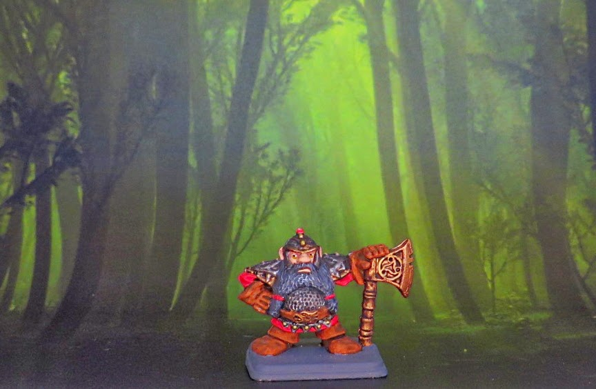 Games, Workshop, Heroquest, Elf, Barbarian, Dwarf, Wizard, painted