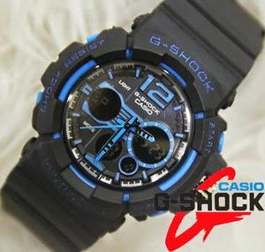 Jam Tangan G-Shock GAC-110 Black Blue
