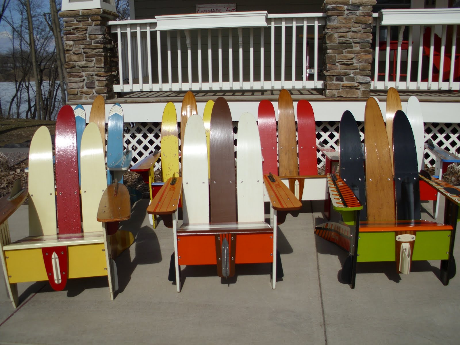 Vendor Profile: Vintage Water Ski Chairs!