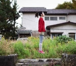 foto levitando