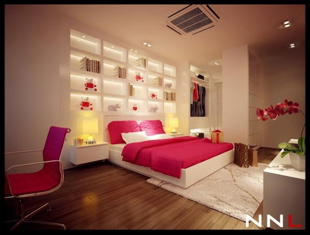 Desain Interior Kamar Tidur Terbaru 2014