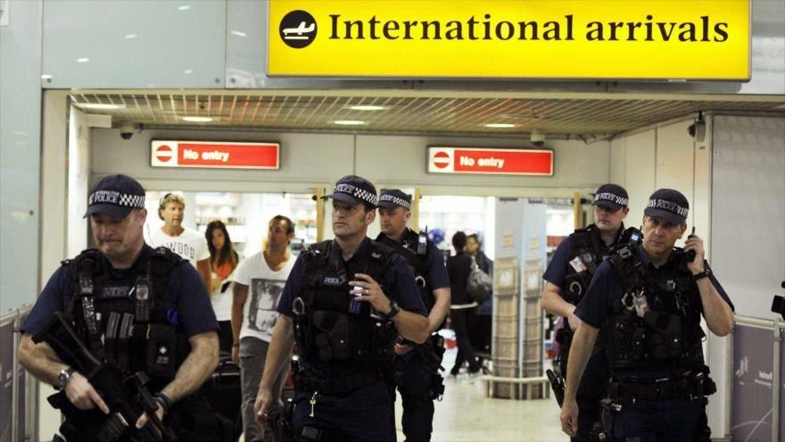 Policía británica supervisa en secreto a 3000 extremistas