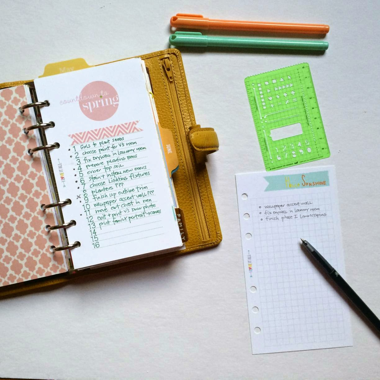 #filofax #download #free #printable #lists #organization #planner