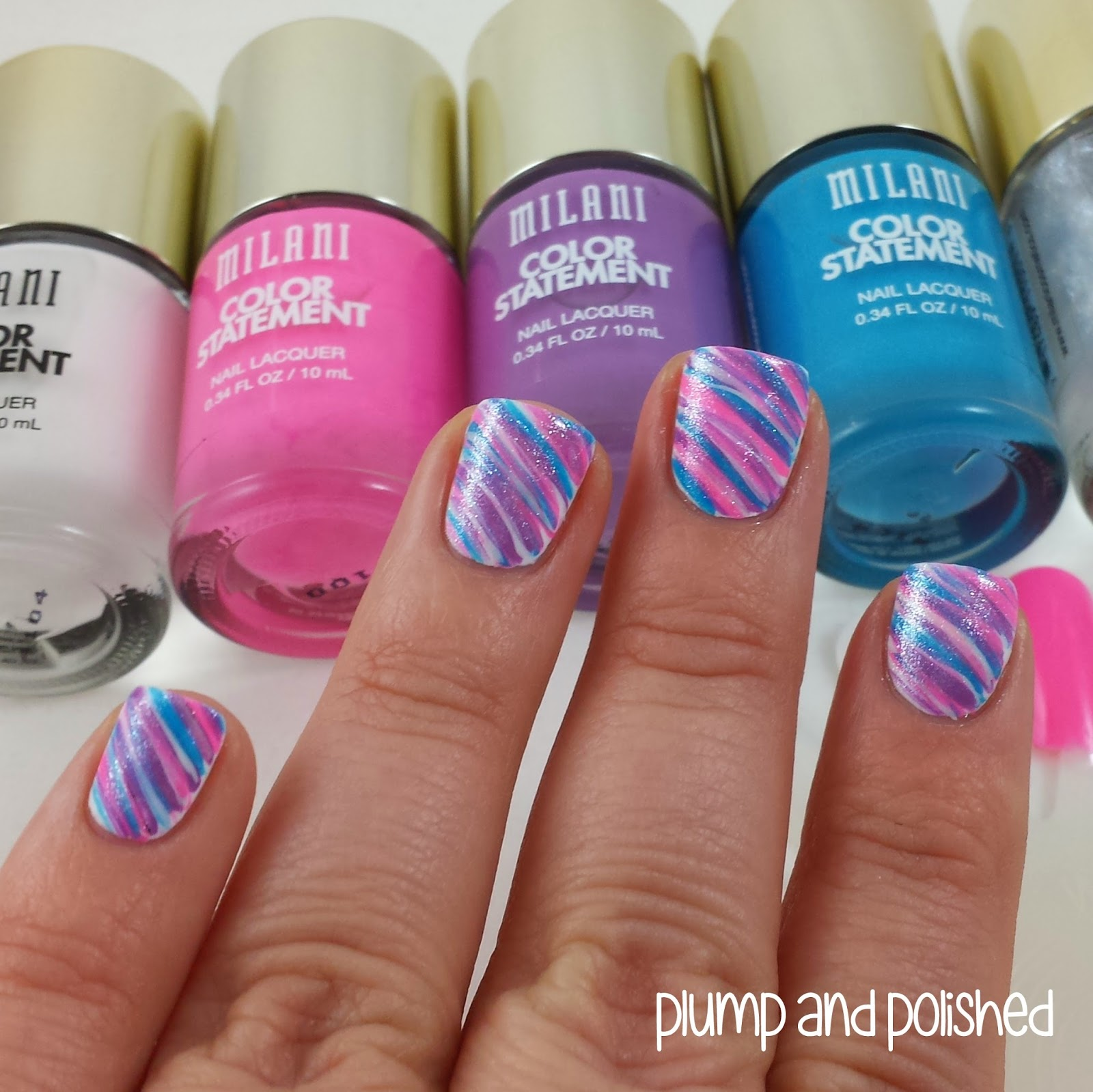 Cotton Candy Nail Color: Plump And Polished: Milani Color Statement