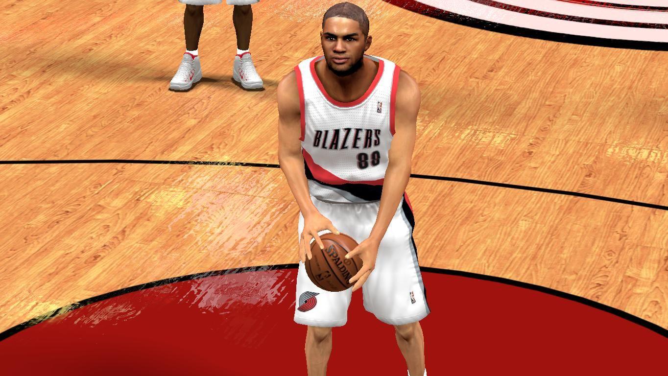 NBA 2K14 Nicolas Batum Cyberface Mod (Next-Gen) Nicolas-batum-face-patch