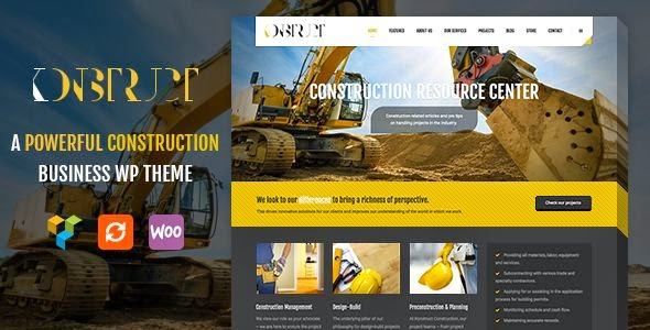 Konstruct - A Construction Business Theme