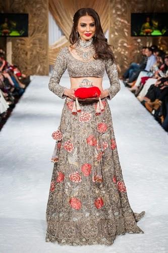 Honey Waqar Bridal Collection 2015 At Pakistan Fashion Week London 2015 She Styles Pakistani