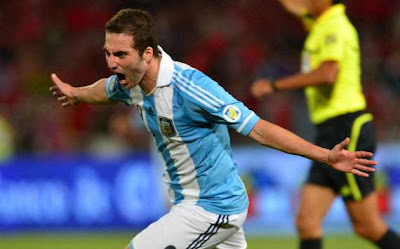 Hasil dan Video Chili vs Argentina 17/10/2012