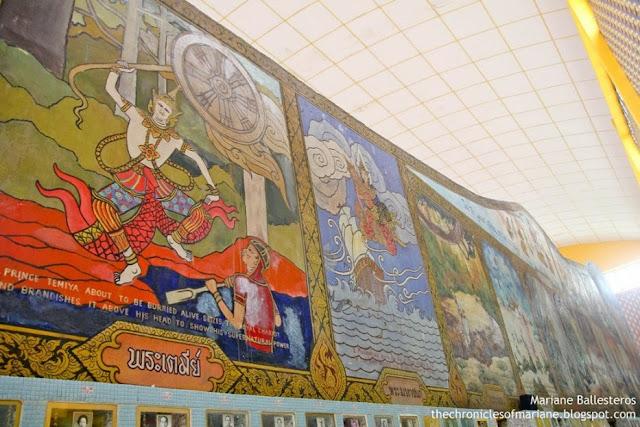Wat Chayamangkalaram art