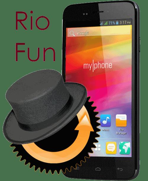 myphone rio fun cwm