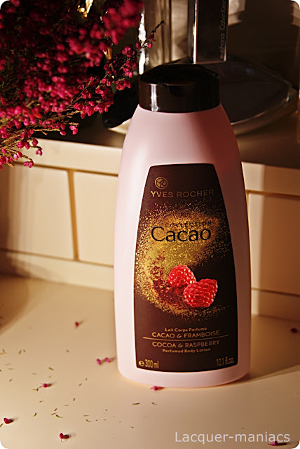 Yves Rocher Cacao Collection - balsam do ciała czekolada & malina
