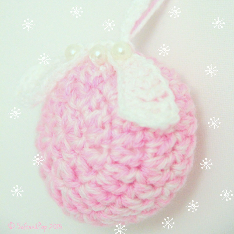 Boule de Noël au crochet / Soft & Pop