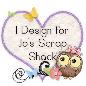 I am honored to design for Jo's Scrap Shack!