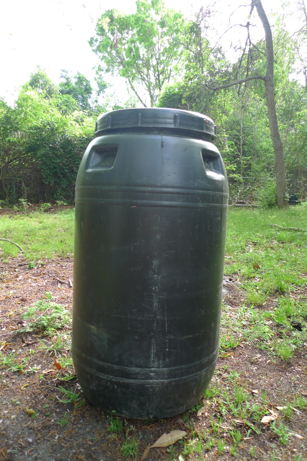 Better than never how to make a rain barrel for Making rain barrel system
