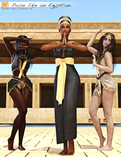 Pose like an Egyptian - Poses for Victoria 7