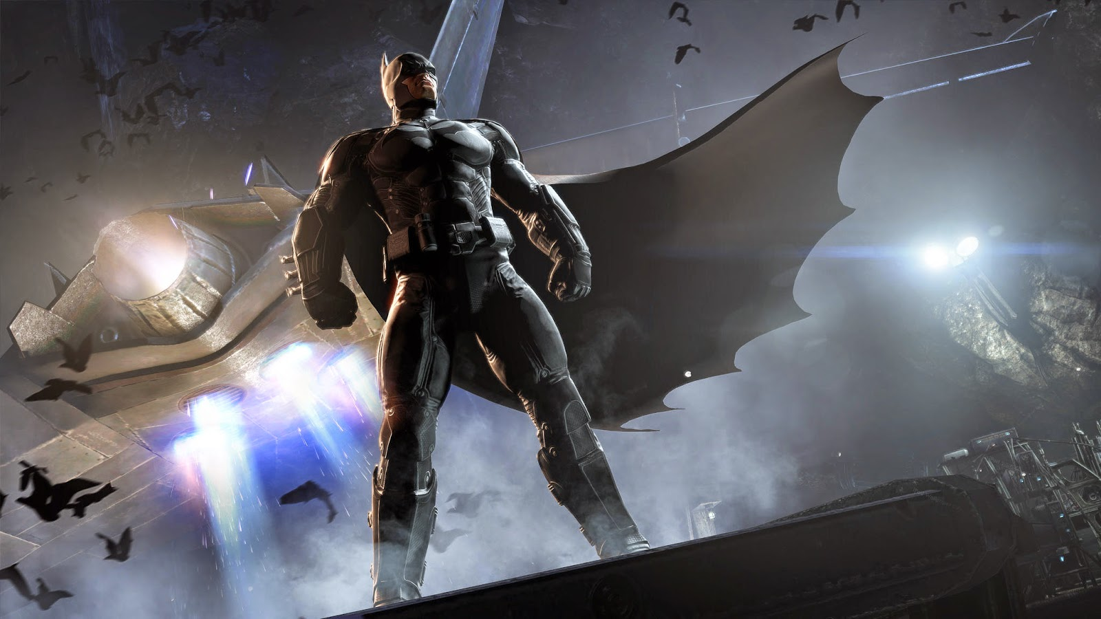 لعبة بات مان للاندرويد Batman Arkham Origins