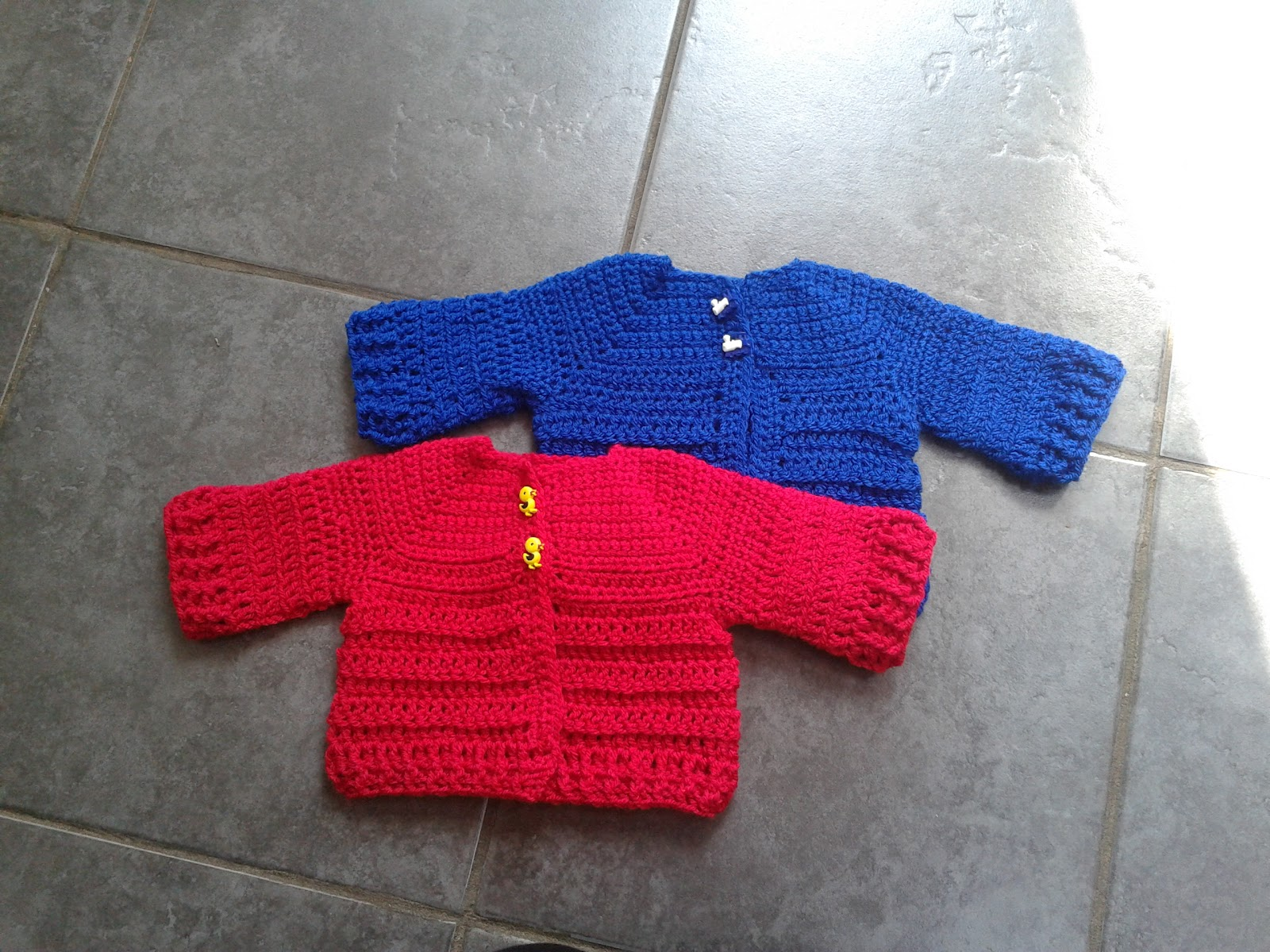 Lollys Crafty Crochet: Free Pattern: Chunky Monkey Cardigan