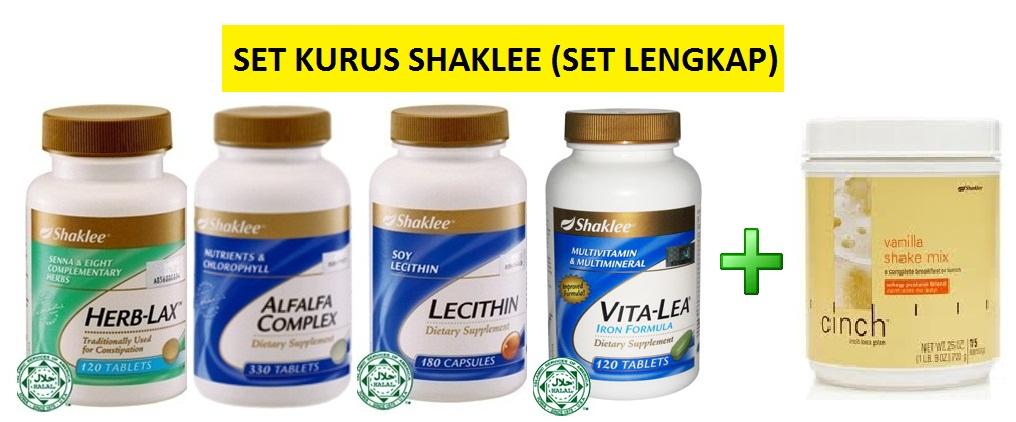 Mudah Turunkan Berat Badan : Tip Diet dan Senaman + SET KURUS SHAKLEE