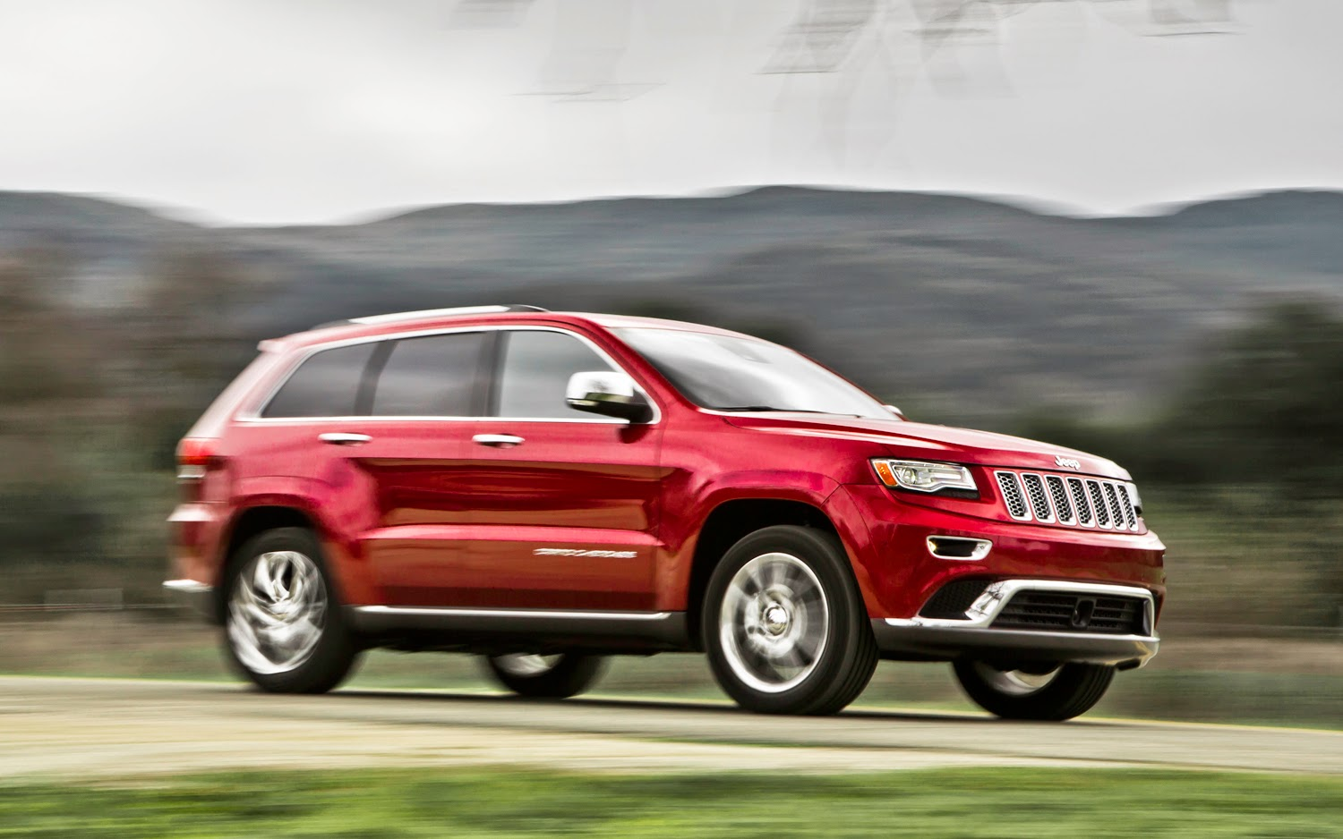 Green SUV of the Year: Jeep Grand Cherokee