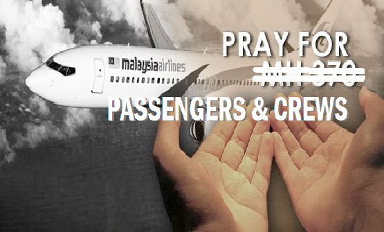 Pray For MH370_1