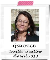 Invitée créative d'avril 2013