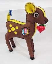 Alce Rena Bambi 3D - Reindeer