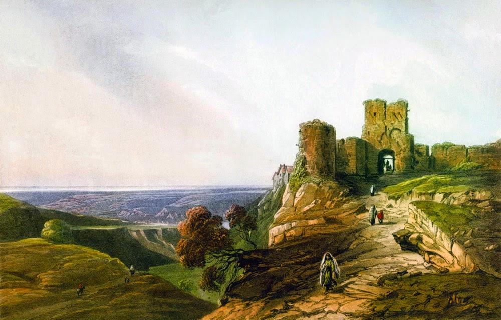 Чуфут-Кале. Картина Карло Боссоли