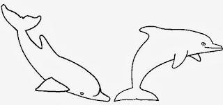 MEER zum Ausmalen Delphine zum online Ausmalen - Ausmalbilder Von Delfinen