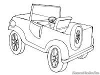 Gambar Mobil Jip Off-Road