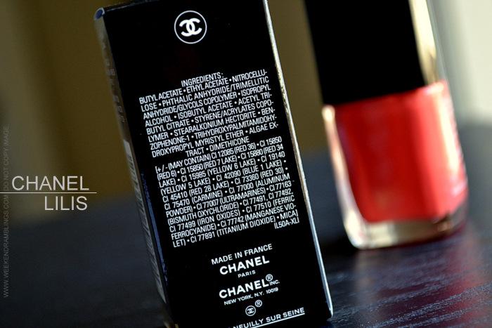 Chanel Le Vernis Nail Polish Colour - Lilis 647 - LEte Papillon de Chanel Makeup Collection Summer 2013 - Indian Beauty Blog Reviews Swatches NOTD Photos Ingredients