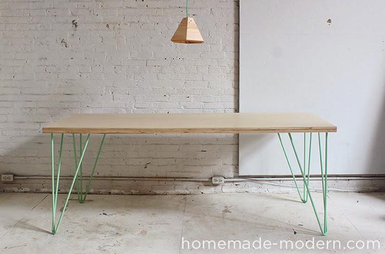 DIY Monday Dining table Ohoh Blog : hmmep41theeasydiytableoption1 from www.ohohblog.com size 750 x 496 jpeg 72kB