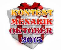 Senarai Kontest Menarik Oktober 2013