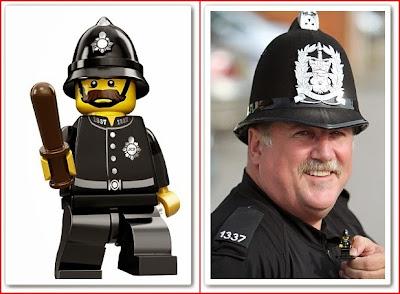 Lego policeman coincidence