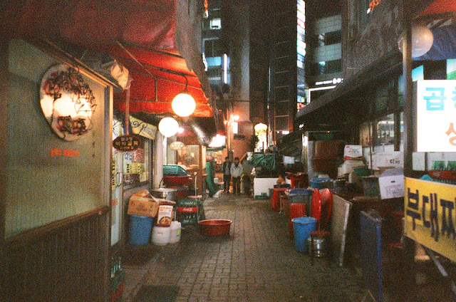 apgujeong seoul south korea alleys