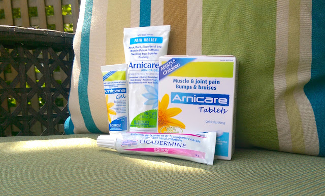 Arnicare and Cicadermine by Boiron