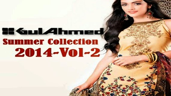 Gul Ahmed Summer Collection Dresses