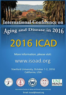 THE INTERNATIONAL CONFERENCE ON AGING AND DISEASE IN 2016: