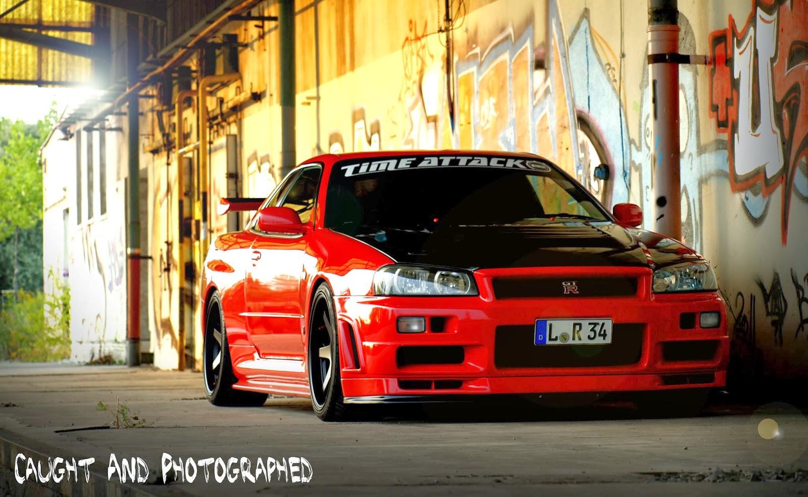 Nissan Skyline R34 GT R Wallpaper 36