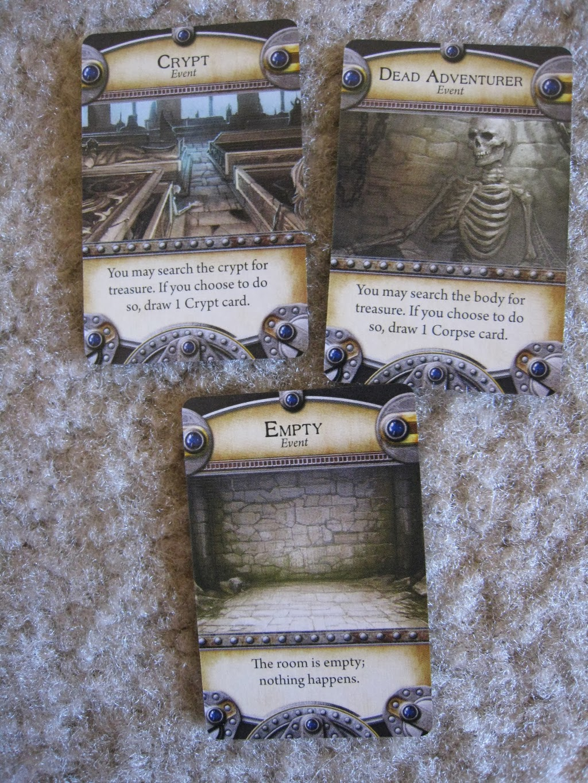 Dungeonquest - cartas evento