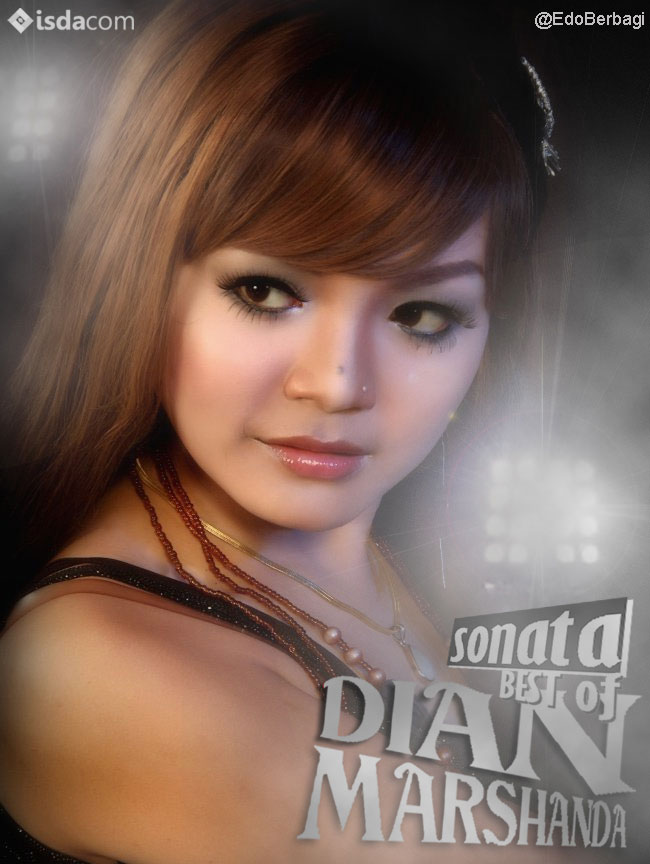 , sonata best of dian marshanda 2013, desain cover album dangdut