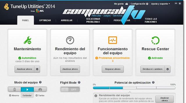TuneUp Utilities 2014 Español Versión 14.0 Final