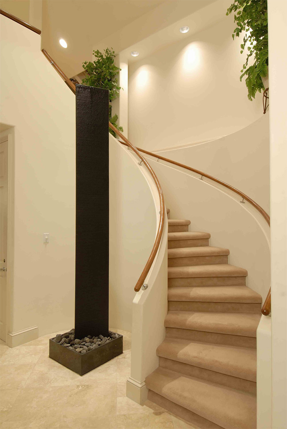 Beautiful staircase design gallery 10 photos modern - Stairs design inside house ...