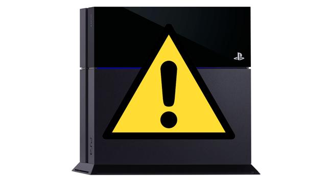 PS4不具合, PS4問題