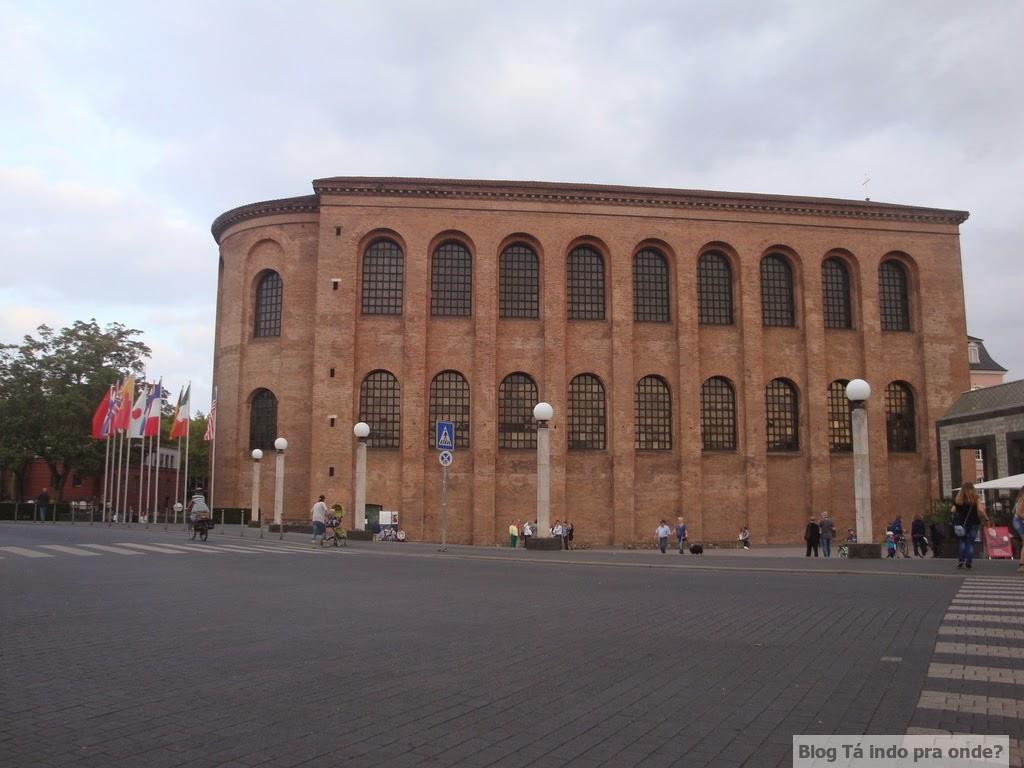 Konstantin-Basilika/Kaisersaal/Aula Palatina - Trier,Alemanha