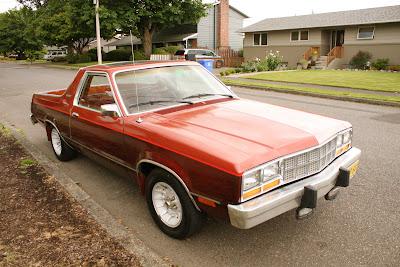 1981 Ford Durango pickup.