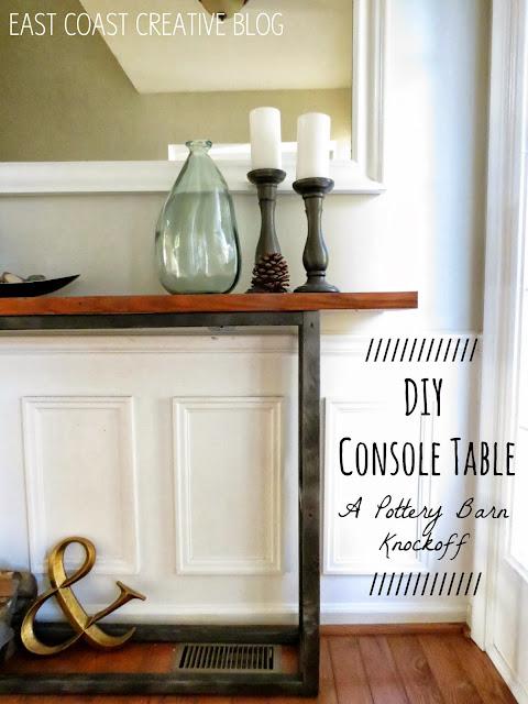 DIY Console Table