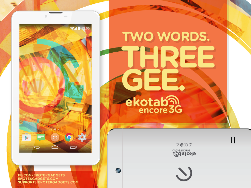 Ekotab Encore 3G Tablet